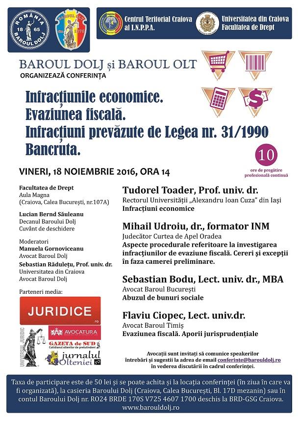 baroul-dolj-afis-conferinta-infractiunile-economice-craiova-18-nov