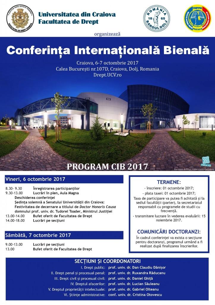 AFIS-Conferinta-Internationala---Bienala-2017---Facultatea-de-DreptCraiova (1)